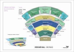 Divulgados Mapas de Assentos dos Shows Solos do Eddie